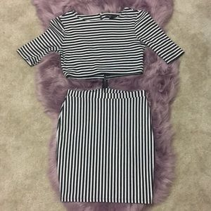 Forever21 Two-piece body con dress